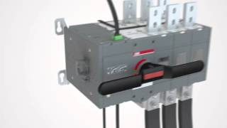 Transfer switches OTM1000…3200 A – Easy installation of accessories