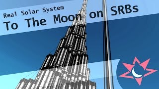 [Real Solar System] - To the Moon using only SRBs