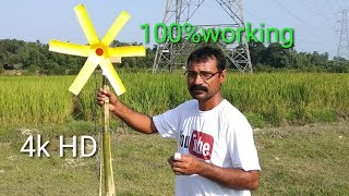 #freeenergyn How to make wind turbine and generator || at your home 100% working||