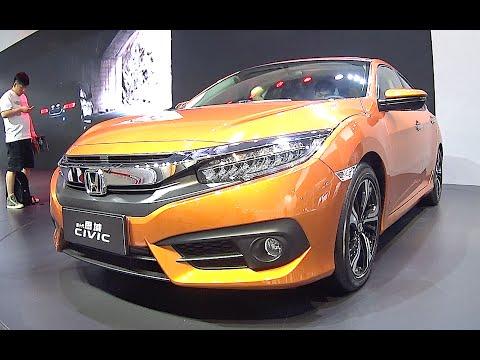All new 2016, 2017 Honda Civic RS Turbo 220 HP, Honda Civic 2016, 2017 Turbo