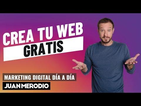LAS 8 MEJORES HERRAMIENTAS PARA CREAR UNA WEB GRATIS