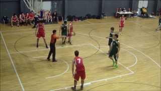 Aitor López Bretón; official game vs Leioa(4th quarter) #4(redshirt)