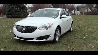 2014 Buick Regal Turbo Review - Quick Look & Drive with 0-60