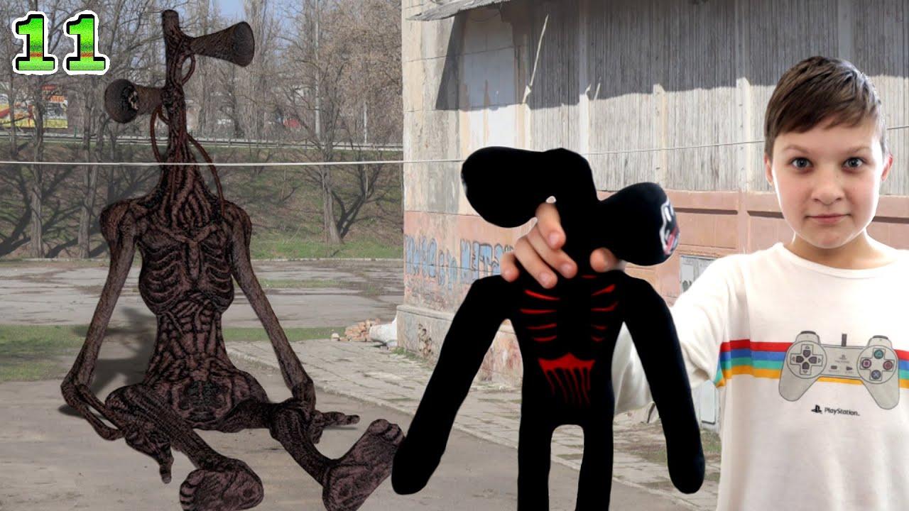 Кукла ВУДУ для Сиреноголового! 11 серия 2 сезон SCP в реальной жизни