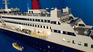 Lego Titanic-  Modern Day