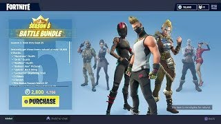 BUYING FORTNITE MOST EXPENSIVE BATTLEPASS 2800 VBUCKS BUNDLE AND SHOWCASE