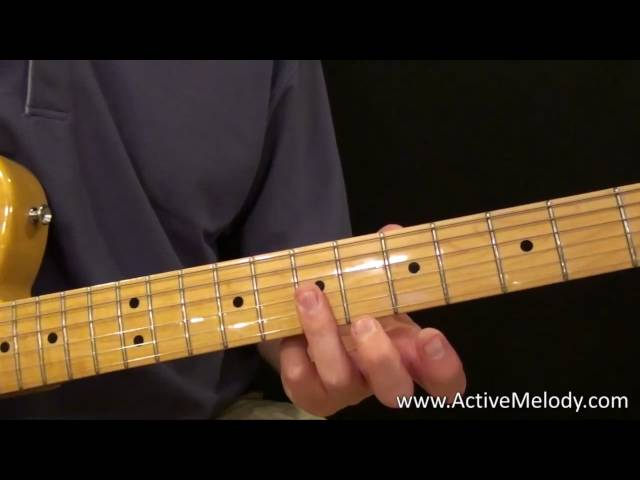 Easy Blues Guitar Lick 1 (Chuck Berry Style)