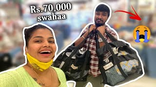 Pavam Ram | Shopping for Dubai trip | My first Expensive Shopping with Ram