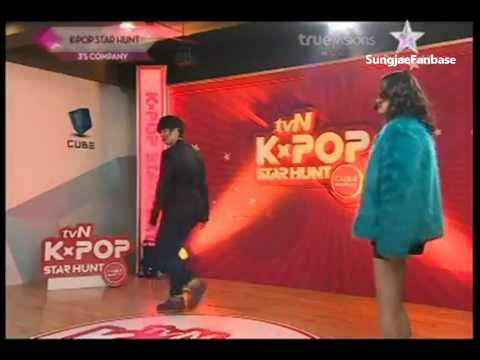 (full cut) ENG SUBS Sungjae at TVN Kpop Star hunt 2011