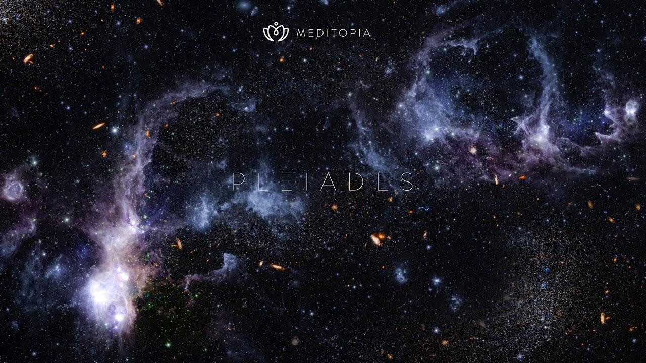 Music for relaxation, sleep well, Pleiades