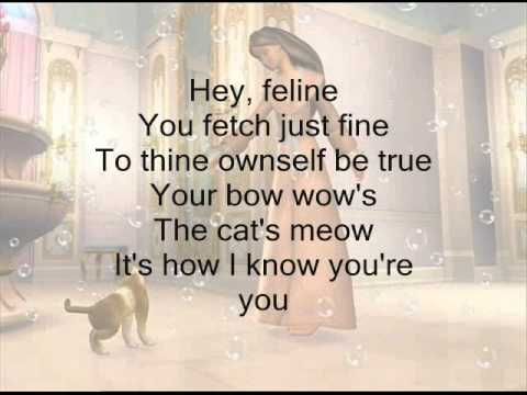 Cat's Meow- Barbie as the Princess and the Pauper w/ Lyrics