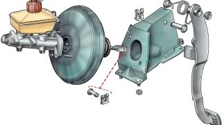 Замена вакуумного усилителя тормозов ВАЗ 2110(, 2016-05-29T07:42:45.000Z)