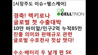[시장주도 이슈+헬스케어]경축! 렉키로나 글로벌 첫 수…