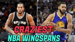 Top 10 CRAZIEST NBA Wingspans! NBA Freaks and Beasts!
