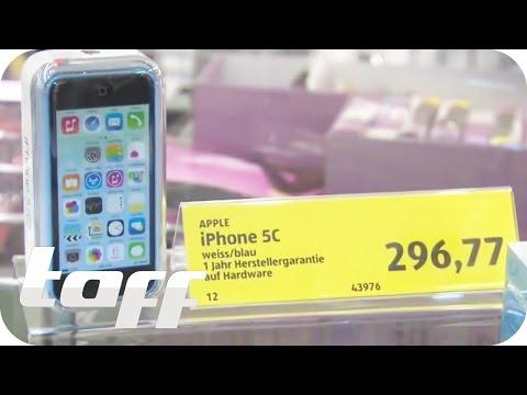 Billig-iPhones aus dem Supermarkt | taff | ProSieben