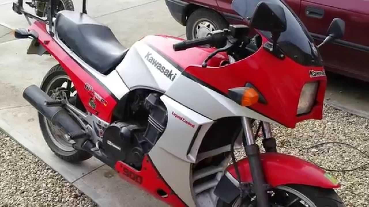 Kawasaki Gpz 900r Oldtimer Startup