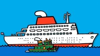 Мультики для малышей- Лодки - Обзор приложения boats