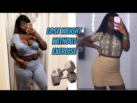 How I Lost 40+ Pounds EASILY Without EXERCISE! (THIS WORKS)