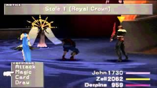 Final Fantasy VIII HD - Seifer/Edea 2nd Battle