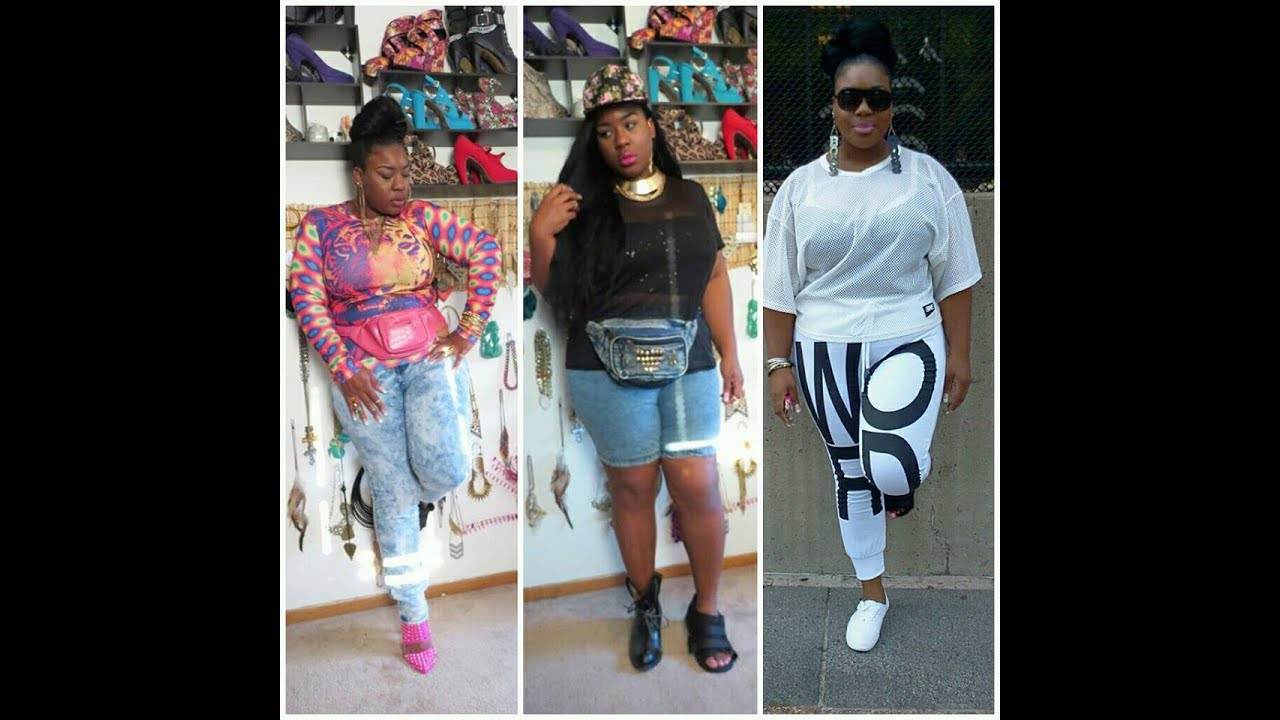 Plussize Back To School/Street Fashion Lookbook! 7 Outfits - YouTube
