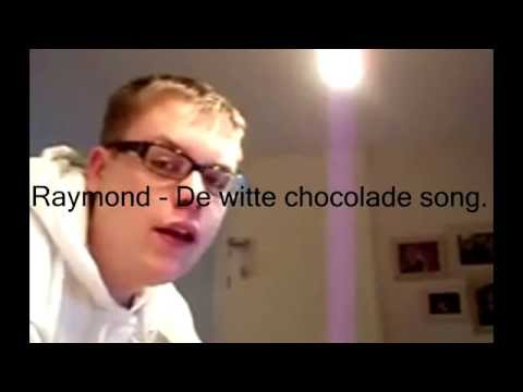 raymond - de witte chocolade song (lyrics)