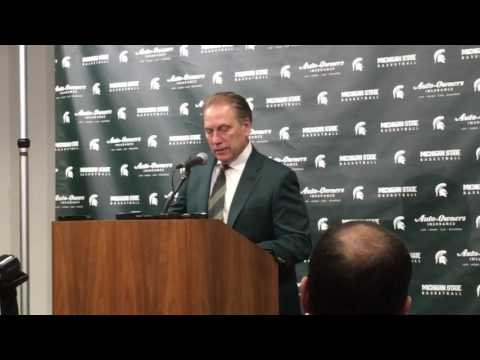Tom Izzo after Michigan win