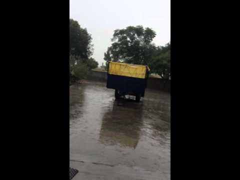 Punjab india rain farming area