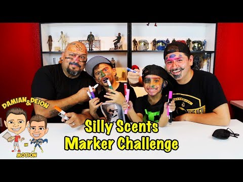 SILLY SCENTS MARKER CHALLENGE COLLAB with Pocket.Watch