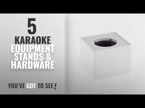 Top 10 Karaoke Equipment Stands & Hardware [2018]: Tinksky Portable ABS Injection Molding Square