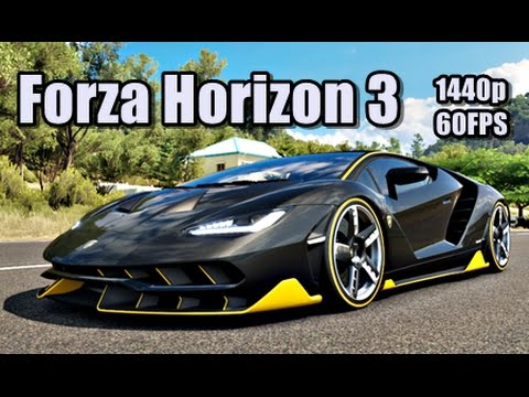 forza horizon 3 pc free roam race ultra 1440p gtx 1070 youtube. Black Bedroom Furniture Sets. Home Design Ideas