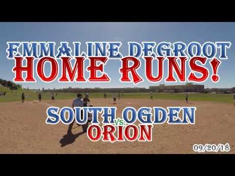 Emmaline DeGroot - Multi Home Run Game vs. Orion Junior High School - 09/20/2018