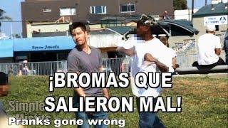 ¡TOP 5 BROMAS QUE TERMINARON MAL! (PRANKS GONE WRONG)