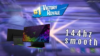 Smoothest Fortnite Gameplay at 144hz by a BOT