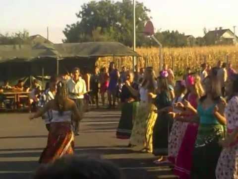 2012.08.20 Hungary Kántorjánosi Authentic Gypsy Dance ( Kántorjánosi Roma Tánc )