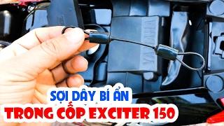 Tác dụng Sợi dây bí ẩn trong cốp chứa đồ của Exciter 150 ▶ Có thể bạn thừa biết!