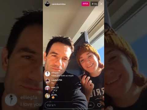 171229 Ramin Karimloo's Instagram Live with Sierra Boggess
