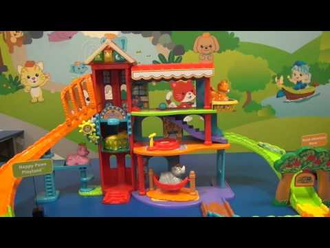 NEW Puppy Vtech Happy Paws Playland Playset for Toddlers and Preschool Kids
