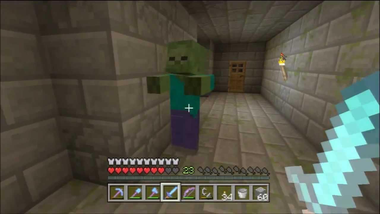 Minecraft Xbox 360 1 0 1 77 Arrow Farm Skeleton Spawner Trap Tutorial Youtube