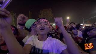 Download lagu Superman Is Dead x Pee Wee Gaskins - Kuat Kita Bersinar live at Synchronize Fest