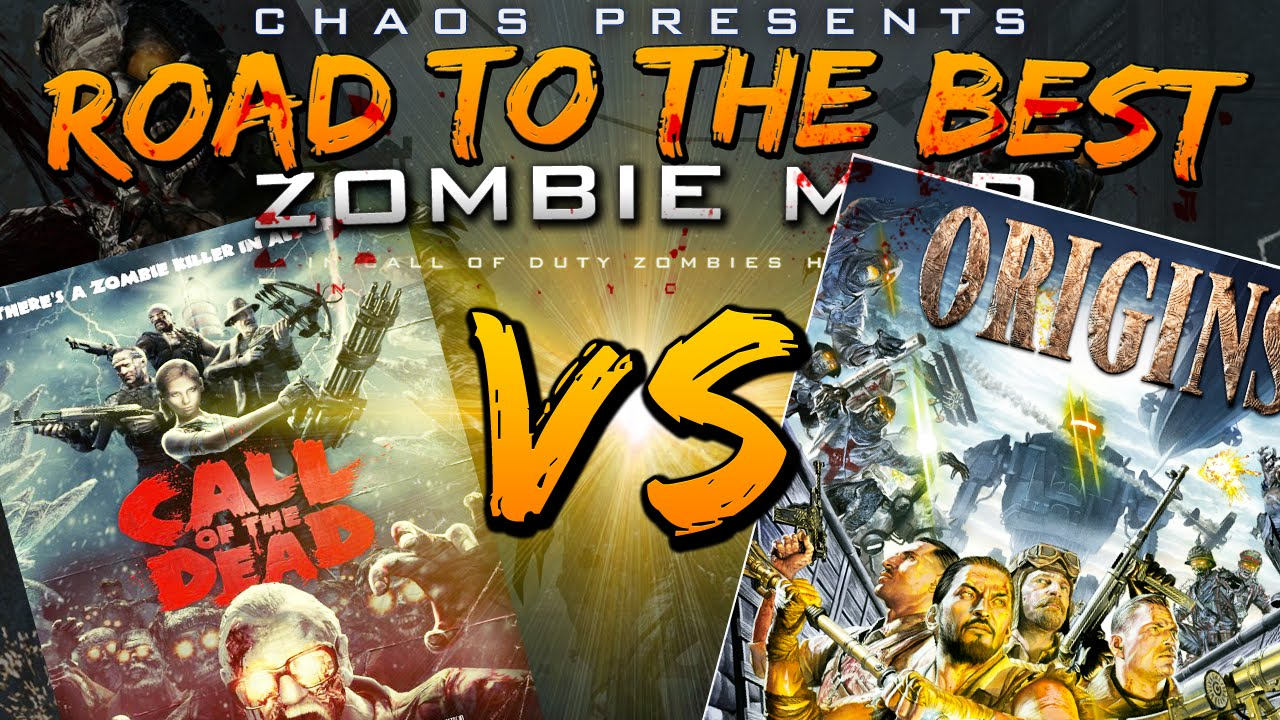 Origins vs call of the dead rd 2 match quot road to the best zombie map