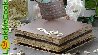 ТОРТ ОПЕРА. Изысканный французский десерт. Рецепт волшебного сочетания вкусов. Класссика/OPERA CAKE