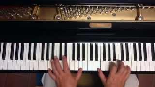 Tutorial piano y voz Cantinero de Cuba (Sergio y Estíbaliz)
