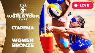 Itapema 4-Star - 2018 FIVB Beach Volleyball World Tour - Women Bronze Medal Match thumbnail