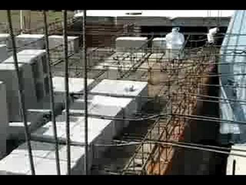 How to Make a Cement Roof in Mexico (part 1)