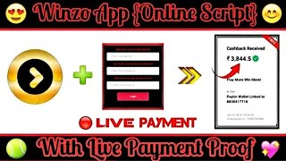Winzo Gold App Unlimited Trick !! OTP Bypass Trick Winzo gold App !! live Proof Added !!
