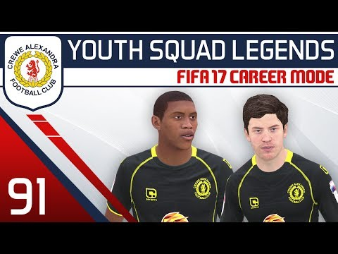 FIFA 17 Career Mode: Crewe #91 - Medicinal Plantage [YOUTH SQUAD LEGENDS   Youth Academy Career]