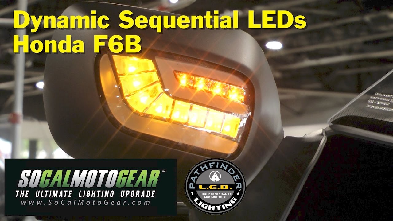 Install Dynamic Sequential Led Turn Signal Drls On Honda