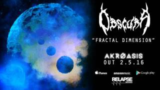 "OBSCURA - ""Fractal Dimension"" (Official Track)"