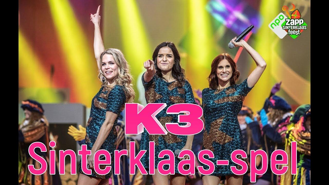 K3 Kleurplaten Spelletjes.Sinterklaas Spel Voor K3