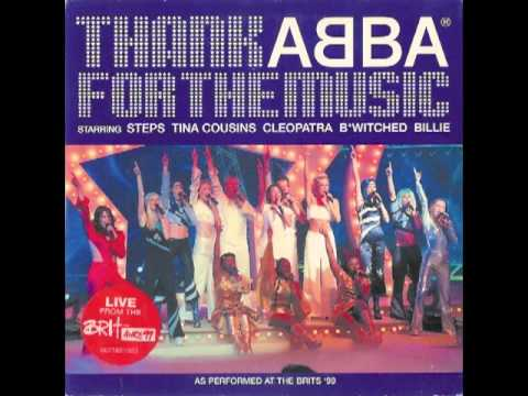 Steps, Tina Cousins, Cleopatra, B*Witched, Billie ‎-- Thank ABBA For The Music